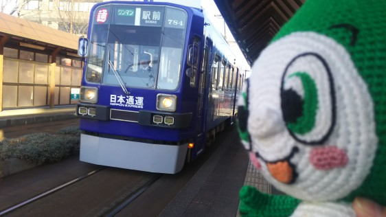 11路面電車到着4