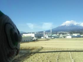 01車窓の富士1